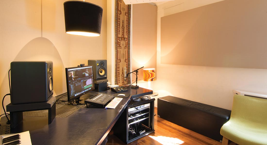 Salt Studios Photo Gallery - AV Production Suite
