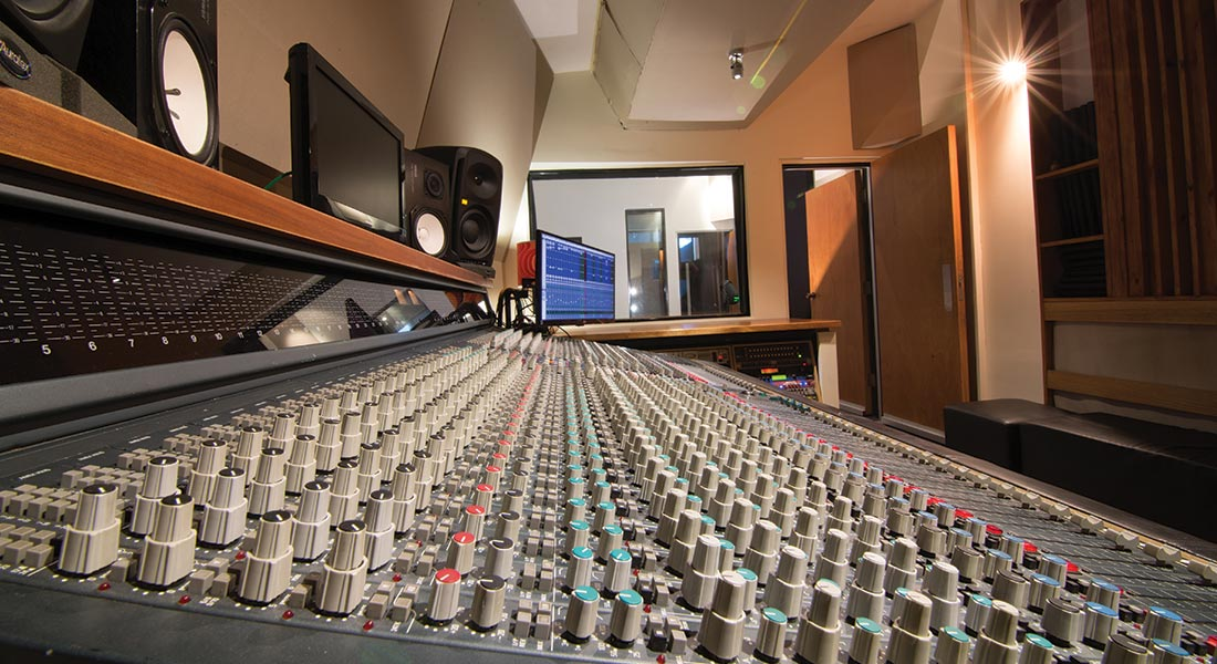 Salt Studios Photo Gallery - The Control Room