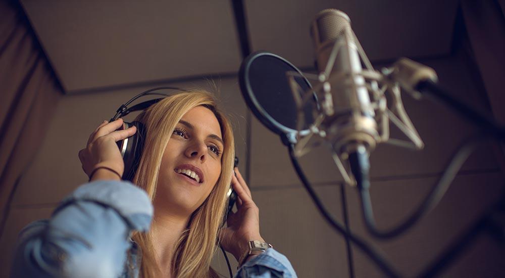 Salt Studios Voiceover Recording