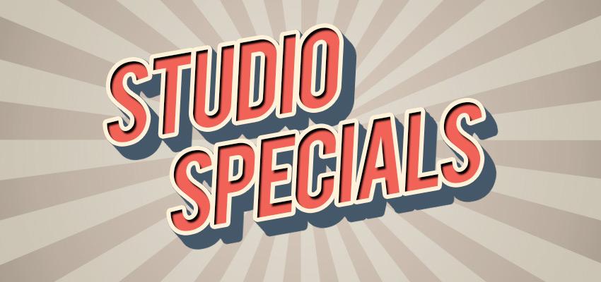 Studio Specials